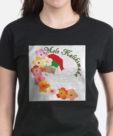 Cute Surfing christmas Tee