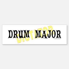 Drum Major Bumper Bumper Bumper Sticker