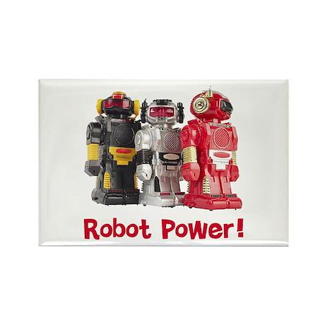 Robot Power! Rectangle Magnet