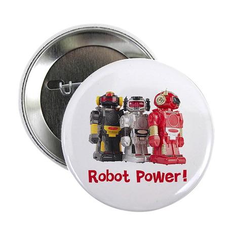 """Robot Power! 2.25"""" Button (100 pack)"""