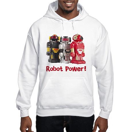 Robot Power! Hooded Sweatshirt