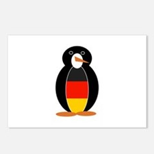 Penguin of Germany Postcards (Package of 8)