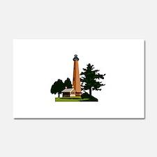 Currituck Beach Lighthouse Car Magnet 20 x 12
