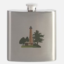 Currituck Beach Lighthouse Flask