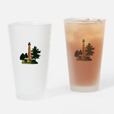 Currituck Beach Lighthouse Drinking Glass
