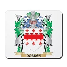 Dobson Coat of Arms (Family Crest) Mousepad