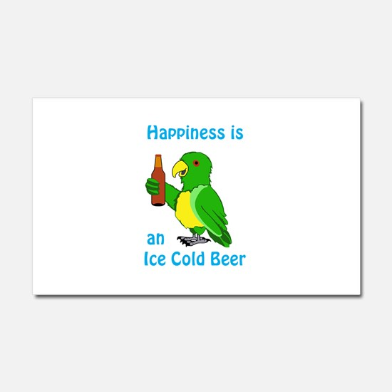 Ice Cold Beer Car Magnet 20 x 12