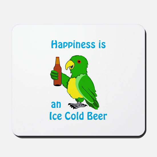 Ice Cold Beer Mousepad