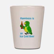 Ice Cold Beer Shot Glass