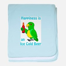 Ice Cold Beer baby blanket