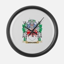 Dodgson Coat of Arms (Family Cres Large Wall Clock