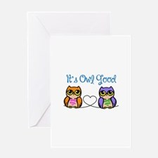 Its Owl Good Greeting Cards