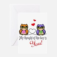 Thought Of Day Greeting Cards