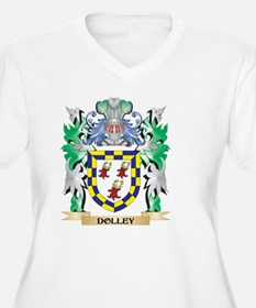 Dolley Coat of Arms (Family Cres Plus Size T-Shirt