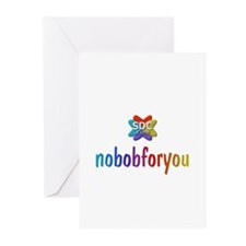 NOBOBFORYOU Products Greeting Cards (Pk of 10)