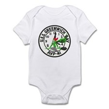 USS GREENWICH BAY Infant Bodysuit
