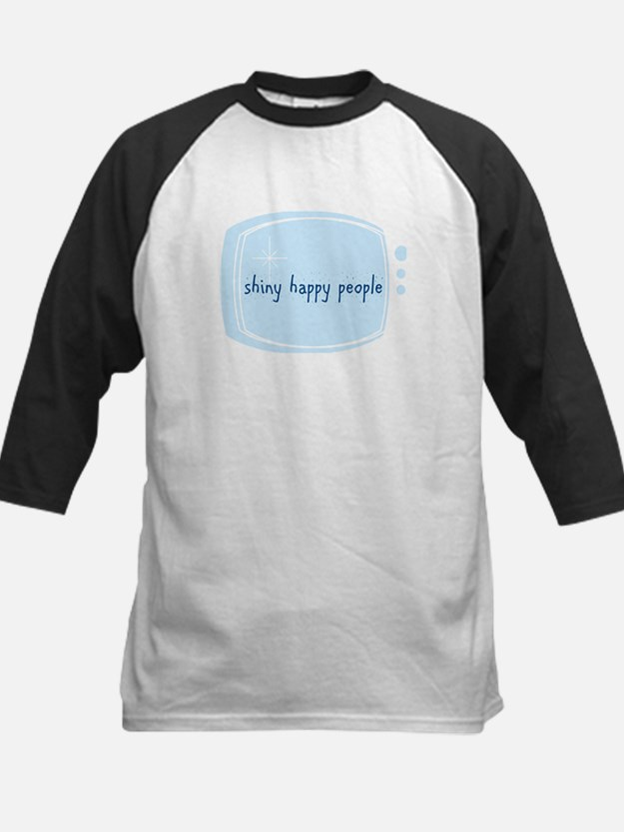 Shinny Happy People Kids Baseball Jersey