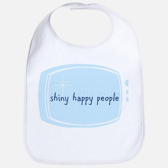 Shinny Happy People Bib