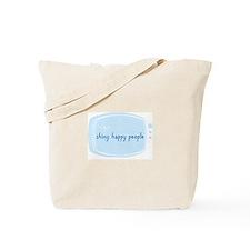 Shinny Happy People Tote Bag