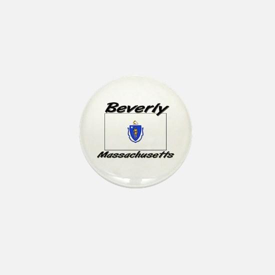 Beverly Massachusetts Mini Button