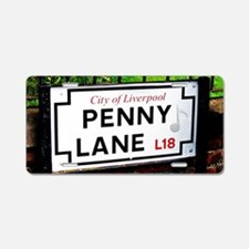Penny Lane liverpool Englan Aluminum License Plate