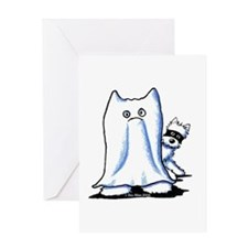 BOO BOO Westies Greeting Card