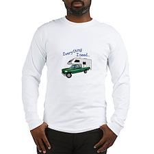 Everything I Need Long Sleeve T-Shirt