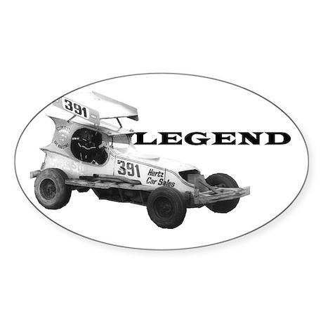 """Stu Smith """"Legend"""" Oval Sticker"""