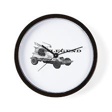 "Stu Smith ""Legend"" Wall Clock"