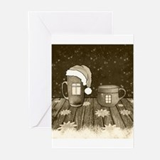 Unique Hot cocoa Greeting Cards (Pk of 20)
