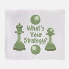 Whats Strategy Throw Blanket