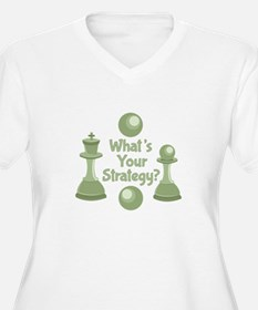 Whats Strategy Plus Size T-Shirt
