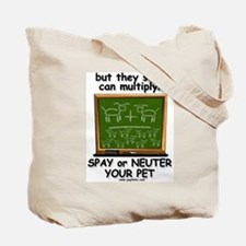 Dogs can't add Tote Bag