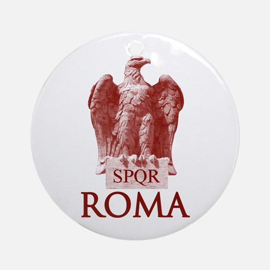 The Roman Eagle Round Ornament