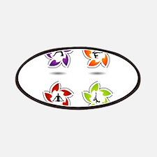 yoga and meditation symbols Patch