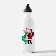 Mrs Claus Kisses Santa Water Bottle