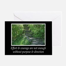 Purpose & Direction Greeting Card
