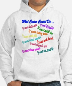 Cancer cannot Jumper Hoody