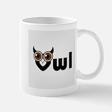 Owl- a symbol of wisdom Mugs