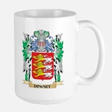 Downey Coat of Arms (Family Crest) Mugs