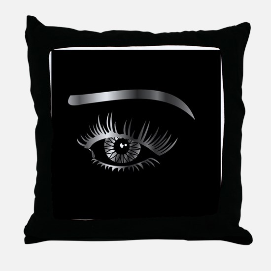 Cute Shop Throw Pillow