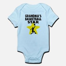 Grandmas Basketball Star Body Suit