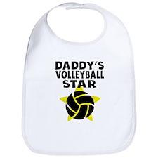 Daddys Volleyball Star Bib