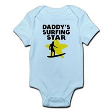 Daddys Surfing Star Body Suit