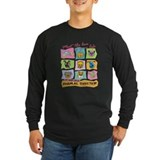 Animal rescue Long Sleeve T-shirts (Dark)