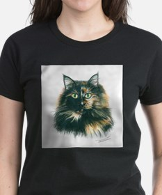 Funny Cute cat art Tee