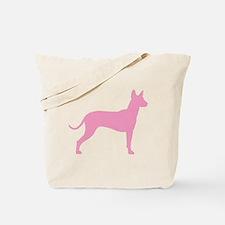 Xolo Dog Pink Profile Tote Bag