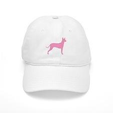 Xolo Dog Pink Profile Baseball Cap