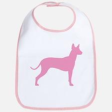 Xolo Dog Pink Profile Bib
