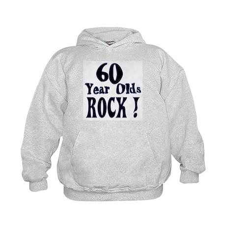 60 Year Olds Rock ! Kids Hoodie